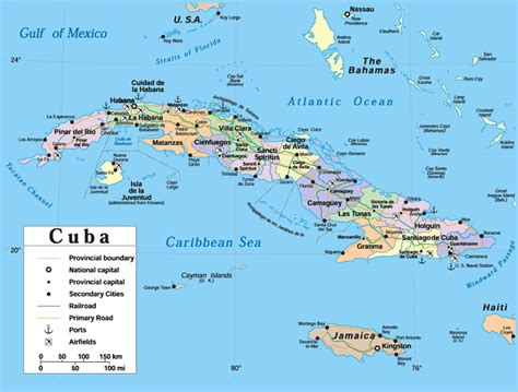 map of usa and cuba maps of cuba map library maps of the world
