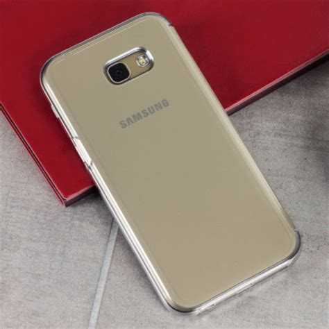 Clear View Cover Samsung A5 2017 official samsung galaxy a5 2017 clear view cover gold