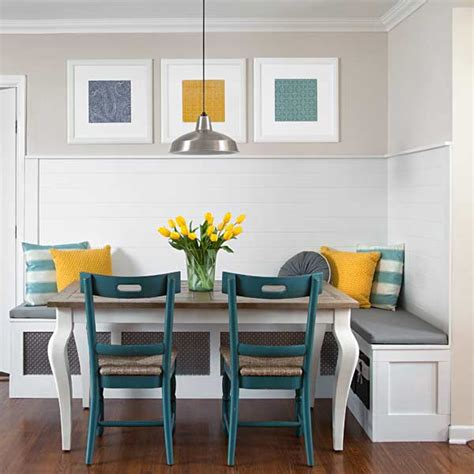 1 beadboard kitchen banquette 9 creative low cost