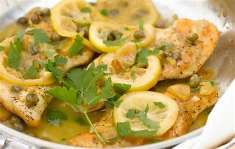 come cucinare i petti di pollo al limone petti di pollo limone e capperi ricette in 30 minuti