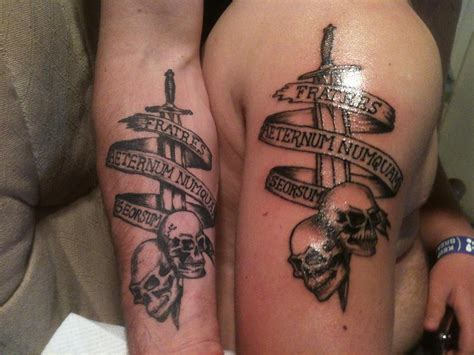 brothers tattoo matching tattoos designs ideas and meaning