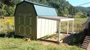 easy lean to greenhouse idea for a shed tiny house