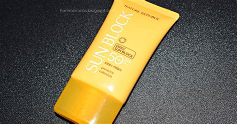 Harga Nature Republic Sunblock Spf 50 nature republic provence calendula daily sun block spf 50