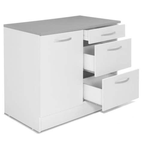 meuble de cuisine alinea alin 233 a eko cuisine meuble de cuisine bas pour 233 vier avec