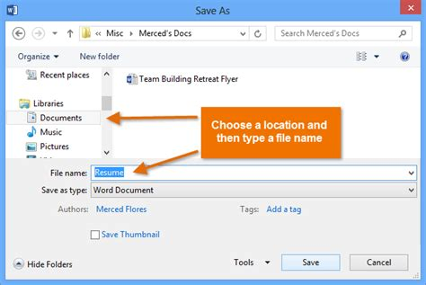 You Modify A Document That Is Saved On Your Computer microsoft word 2013 host