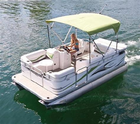 mini pontoon boats electric 7516 c small electric pontoon boat 16 small pontoon