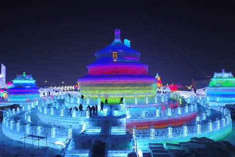 harbin ice festival china s snow and ice festival chicago tribune