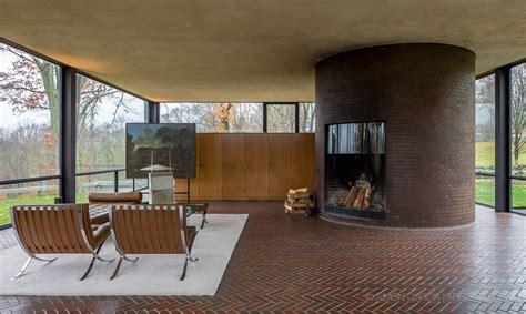 philip johnson glass house new canaan e architect