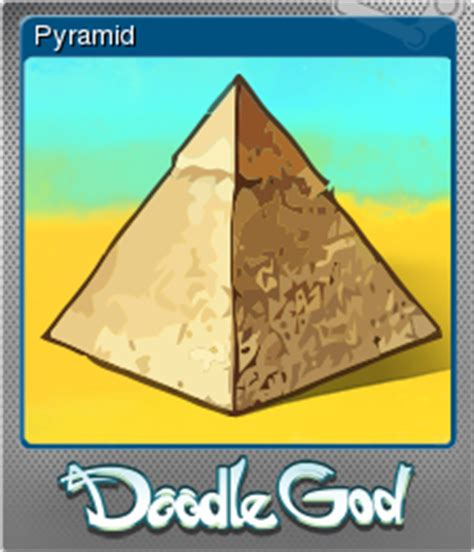 doodle god how to make the pyramid doodle god pyramid steam trading cards wiki fandom