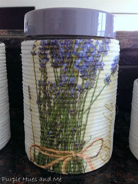 Decoupage Techniques Ideas - hometalk wrapped rope on glass containers with decoupage