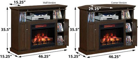 windsor corner infrared electric fireplace media cabinet 23de9047 pc81 windsor wall or corner infrared electric fireplace media