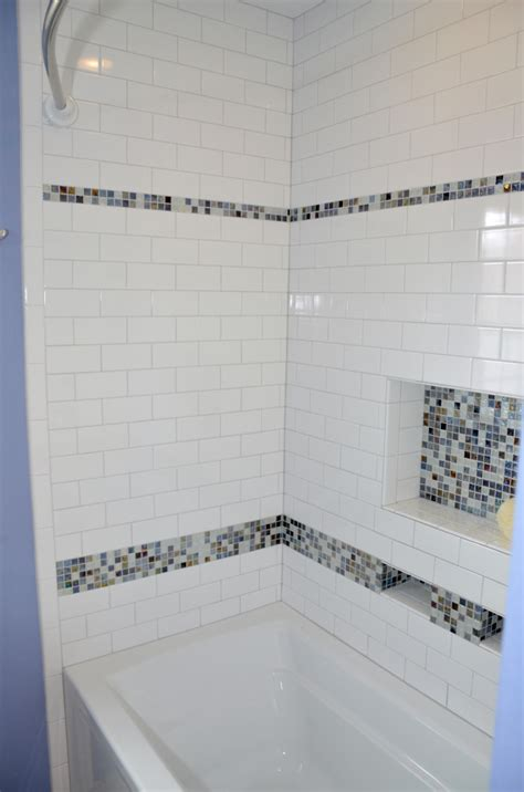 subway tile bathtub decorative mosaic rjk construction inc