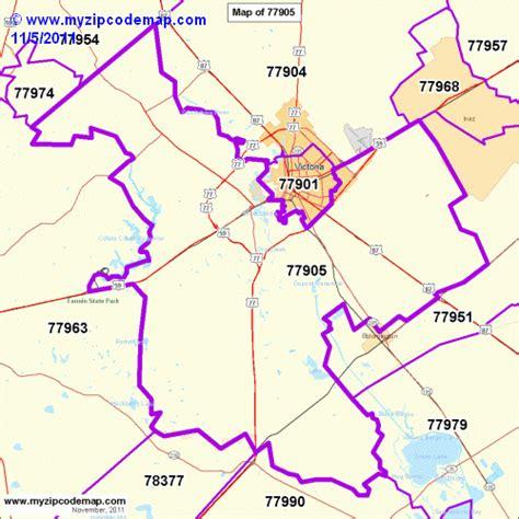 Zip Code Map Victoria Tx   zip code map of 77905 demographic profile residential