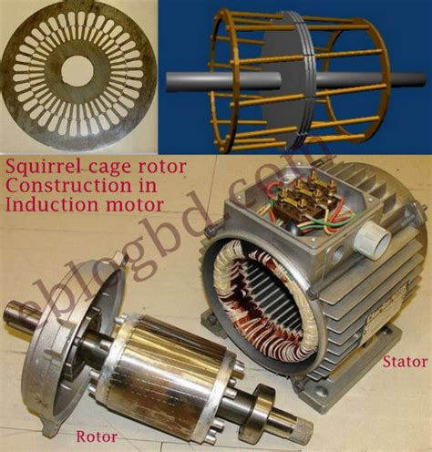 squirrel cage rotor induction motor squirrel cage and phase wound rotor basics