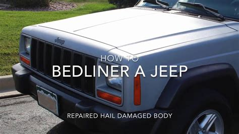 white bed liner paint how to paint a jeep with bedliner and rollers youtube