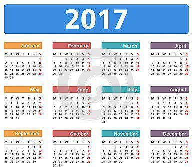 Calendario 2018 Con Festività Italiane Calendario Festivit 224 2017