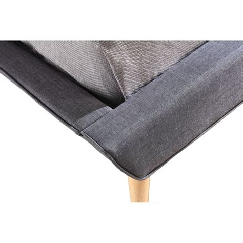 tufted king bed frame king linen fabric button tufted bed frame in grey buy