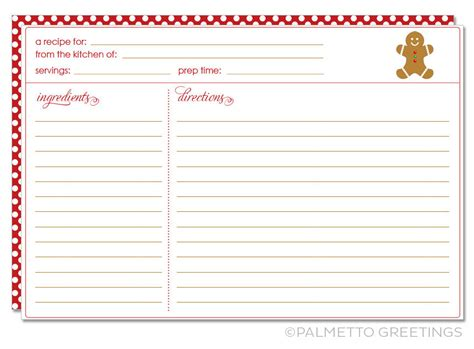 printable cookie exchange recipe cards printable recipe card with christmas holiday theme
