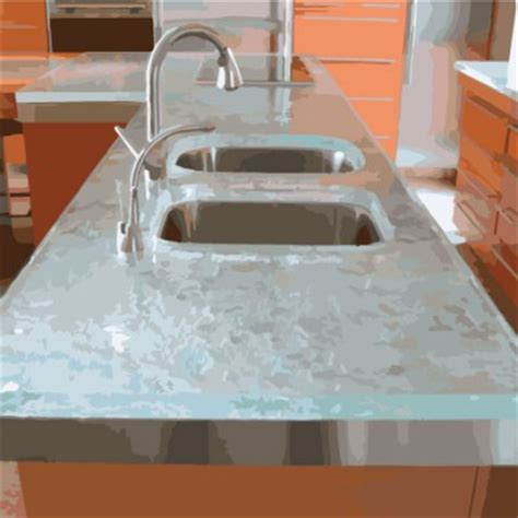 Recycled Glass Countertops Seattle by Gorgeous Kitchen Countertops Kitchen Idea Gallery