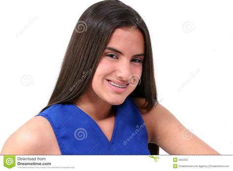 young teen girl face with braces beautiful brace face stock photo image of orthodontic