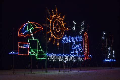virginia beach christmas lights virginia beach holiday lights