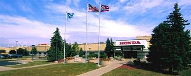 Marysville Honda Welcome To Honda Manufacturing Of Ohio Honda Of America Mfg