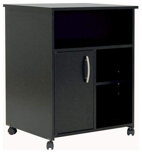 printer stand cabinet in black city co
