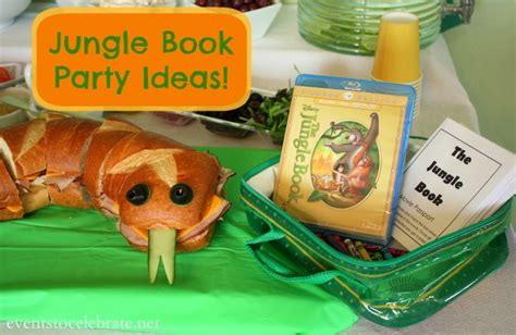 jungle book themed birthday party jungle book party ideas events to celebrate