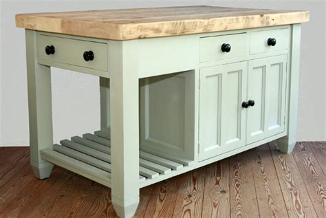 Free Standing Kitchen Island by Handmade Solid Wood Island Units Freestanding Kitchen