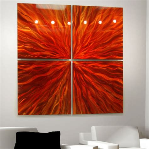 abstract art home decor red modern abstract metal wall art sculpture contemporary