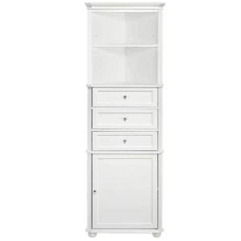 white corner bathroom cabinets home decorators collection hton harbor 23 in w x 13 in