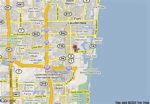 map of embassy suites hotel ft lauderdale 17 th