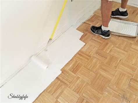 Hardwood Floor Painting Ideas Diy How To Paint Wood Floors Like A Pro Shabbyfufu