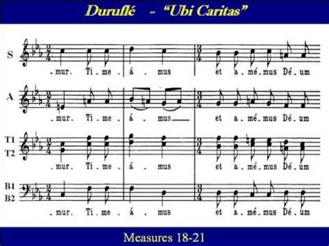 ubi rating tenor1 ubi caritas durufle score