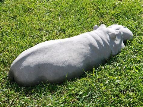 sculture da giardino scultura di ippopotamo da giardino keblog shop