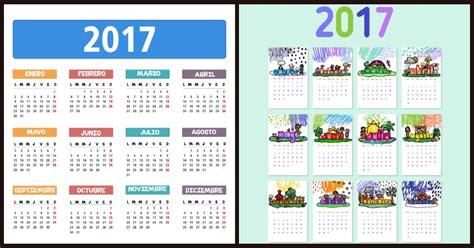 Calendario 2017 Para Imprimir Por Meses Calendarios Y Planificadores 2017