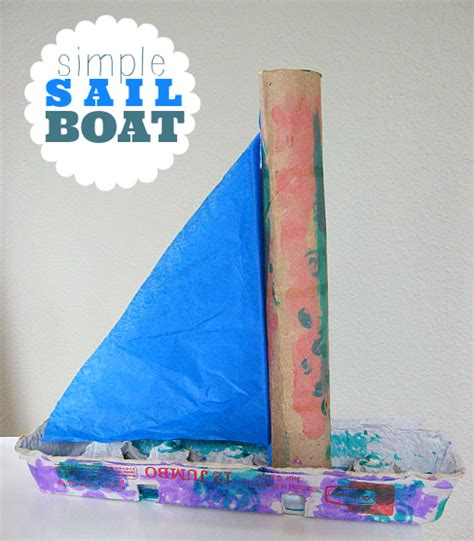 boat craft sail boat craft no time for flash cards