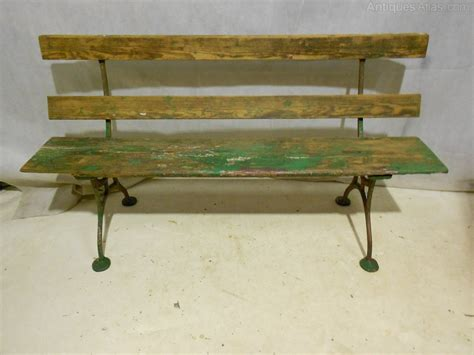 old garden bench antiques atlas antique victorian garden bench