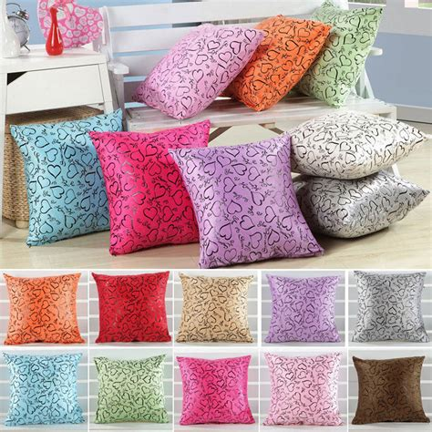 throw pillows bed new throw pillow case cushion cover decor sofa bed home