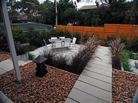 low maintenance backyard build your simple low maintenance landscaping ideas easy