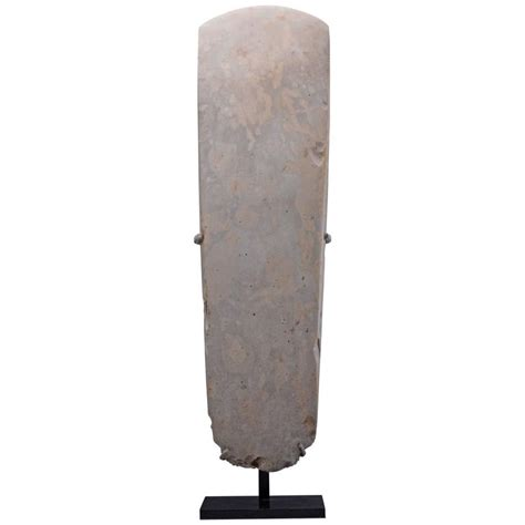polished axe neolithic age polished ceremonial axe 3000 bc at 1stdibs