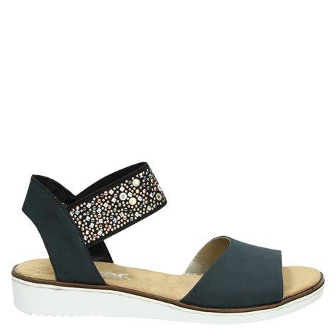 sandal merk fladeo uk 41 42 rieker sandalen blauw