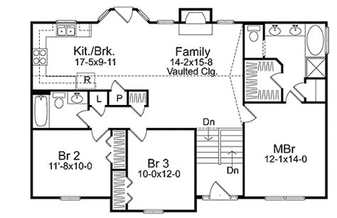 cozy split level house plan 2298sl narrow lot 1st