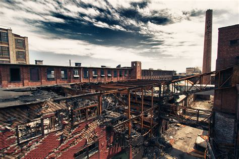 abandoned buildings in ct burned out factory snapshots for sore eyes