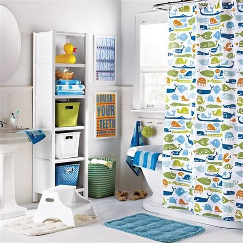 sublime fish shower curtain decorating ideas for bathroom 1000 ideas about kids bathroom accessories on pinterest