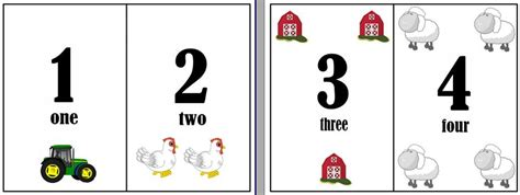 printable numbers cards 1 20 numbers 1 20 flash cards farm theme the sand box
