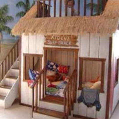 Play House Bunk Beds Children S Playhouse Bunk Bed Beds For Pinterest