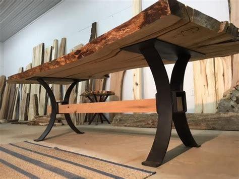 metal dining table base best 25 metal table legs ideas on steel table