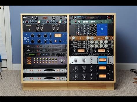 Build Studio Rack this is a pictorial showing how to build a 16u