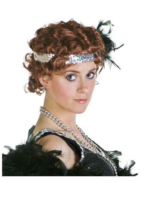 show roaring twenties hairstyles fingerwave flapper wig